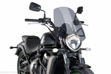 Cupolino Puig Naked Sport per Kawasaki Vulcan S nero