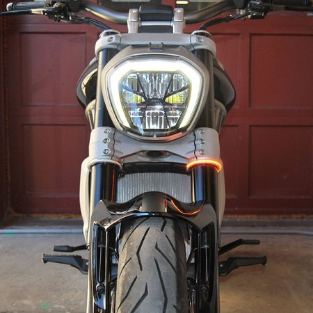 RAGE360 Wrap Around Fork LED Turn Signals by NRC