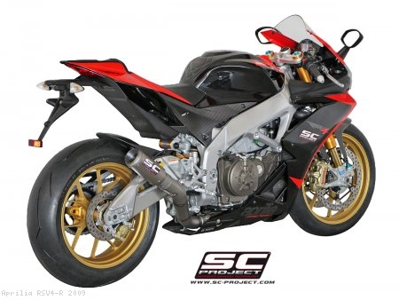 CR-T Exhaust by SC-Project Aprilia / RSV4 R / 2009