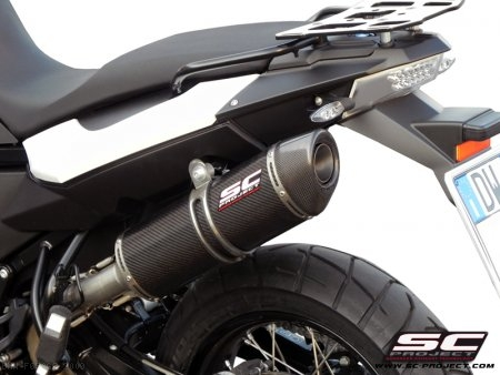 Oval Exhaust by SC-Project BMW / F650GS / 2009