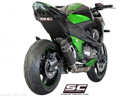 Oval Exhaust by SC-Project Kawasaki / Z800 / 2016