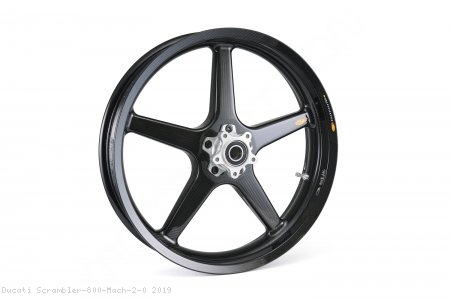 5 Spoke Carbon Fiber Wheel Set by BST Ducati / Scrambler 800 Mach 2.0 / 2019