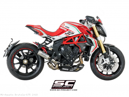 CR-T Exhaust by SC-Project MV Agusta / Brutale 675 / 2018