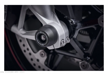 Front Axle Sliders by Evotech Performance BMW / S1000RR HP4 / 2013