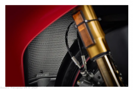 Radiator and Oil Cooler Guard Set by Evotech Performance Ducati / Panigale V4 R / 2020