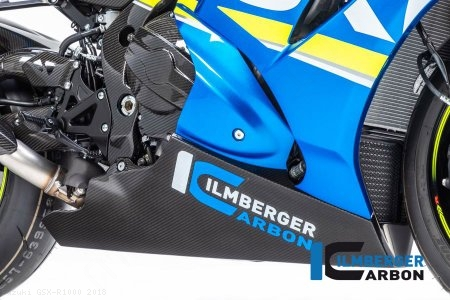 Carbon Fiber Bellypan by Ilmberger Carbon Suzuki / GSX-R1000 / 2018