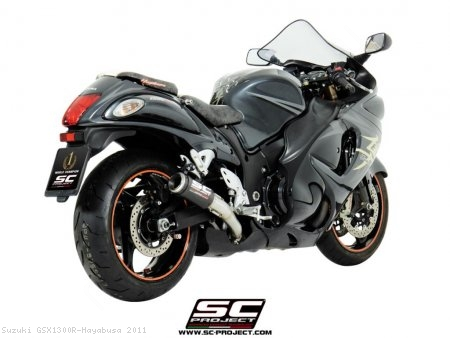 CR-T Exhaust by SC-Project Suzuki / GSX1300R Hayabusa / 2011