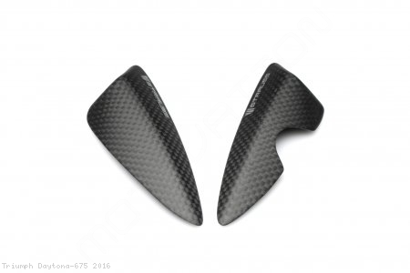 Carbon Fiber Street Version Tail Slider Kit by Strauss Carbon Triumph / Daytona 675 / 2016