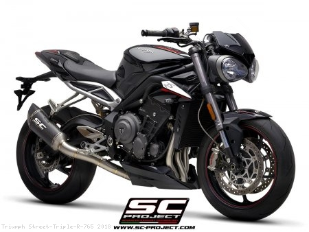 SC1-R Exhaust by SC-Project Triumph / Street Triple R 765 / 2018