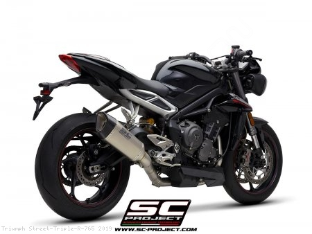 SC1-R Exhaust by SC-Project Triumph / Street Triple R 765 / 2019