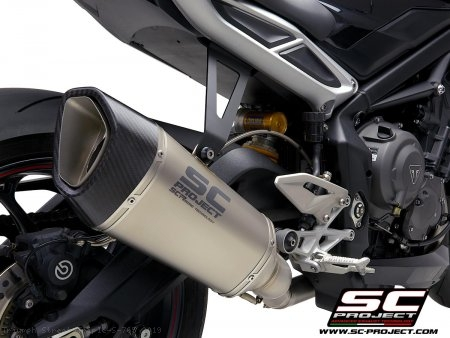 SC1-R Exhaust by SC-Project Triumph / Street Triple S 765 / 2019
