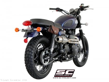 Conic Full System Exhaust by SC-Project Triumph / Scrambler / 2016