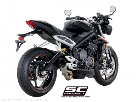 S1 Exhaust by SC-Project Triumph / Street Triple R 765 / 2017