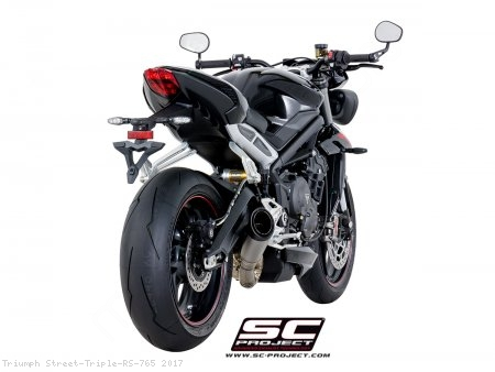 S1 Exhaust by SC-Project Triumph / Street Triple RS 765 / 2017