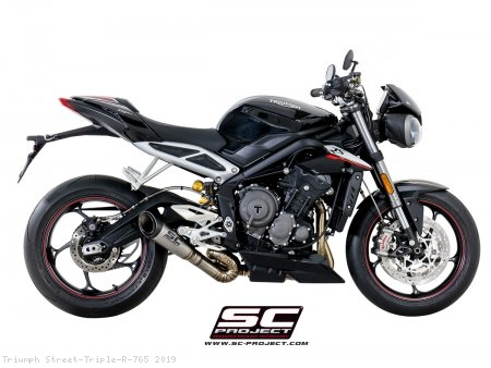 S1 Exhaust by SC-Project Triumph / Street Triple R 765 / 2019