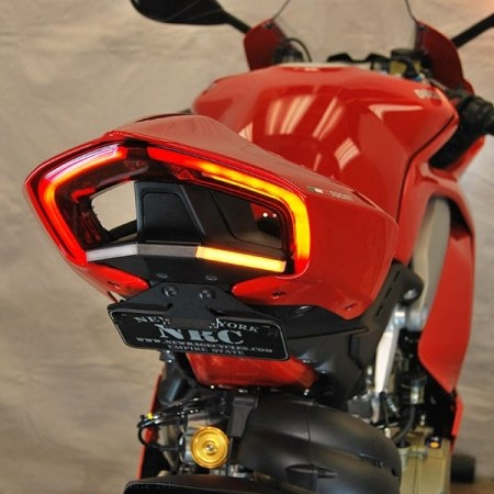 Fender Eliminator Kit with Integrated Turn Signals by NRC Ducati / Panigale V4 Speciale / 2018