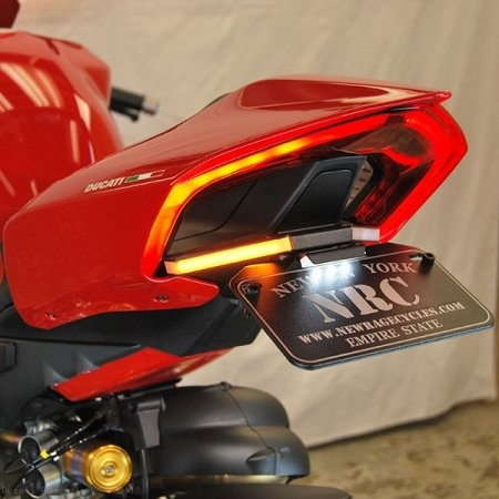 Fender Eliminator Kit with Integrated Turn Signals by NRC Ducati / Panigale V4 S / 2018