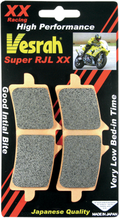 Vesrah RJL XX High-Performance Race Front Brake Pads Aprilia / RSV4 RR / 2016