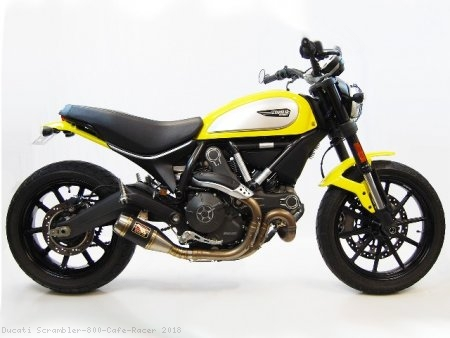 GP Slip-on Exhaust by Competition Werkes Ducati / Scrambler 800 Cafe Racer / 2018