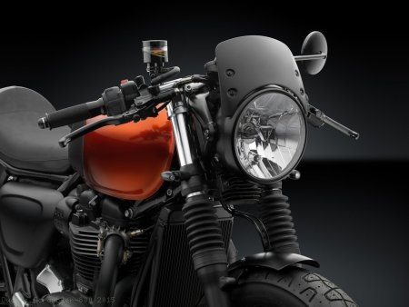 Low Height Aluminum Headlight Fairing by Rizoma Ducati / Scrambler 800 / 2015