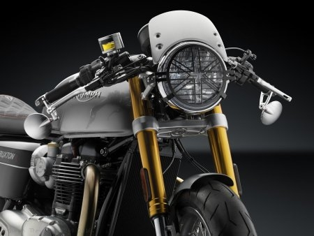 Headlight Guard by Rizoma Triumph / Thruxton 1200 / 2016
