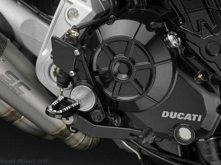Adjustable Rearsets by Rizoma Ducati / XDiavel / 2019