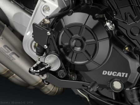 Adjustable Rearsets by Rizoma Ducati / XDiavel S / 2016
