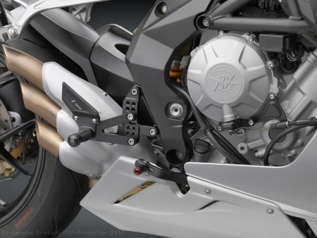 """RRC"" Rearsets by Rizoma MV Agusta / Brutale 800 Dragster / 2013"