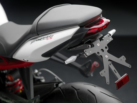 Rizoma License Plate Tail Tidy Kit Triumph / Street Triple R / 2013