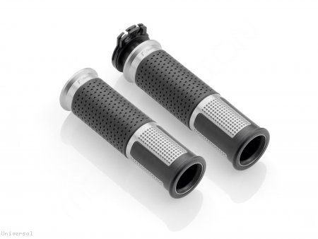 Universal LUX Billet Aluminum Grips by Rizoma Universal