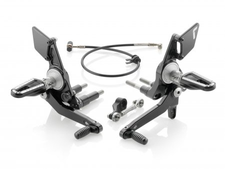 Adjustable Rearsets by Rizoma