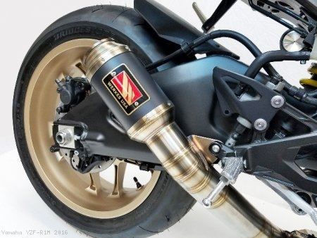 GP Race Slip-On Exhaust by Competition Werkes Yamaha / YZF-R1M / 2016