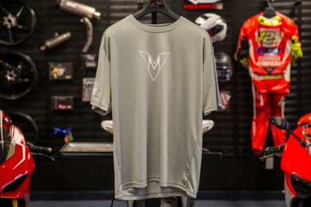 "Motovation Performance DRY-FIT Tee Shirt ""Limited Gray Edition"""