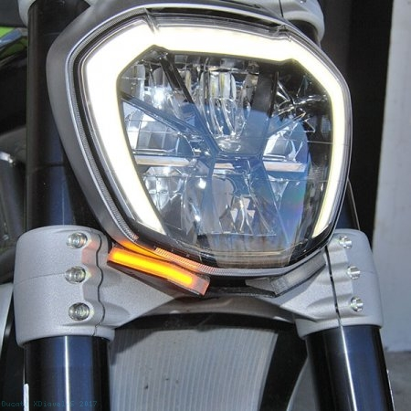 Front Turn Signal Kit by NRC Ducati / XDiavel S / 2017