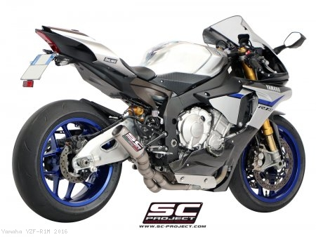 CR-T Exhaust by SC-Project Yamaha / YZF-R1M / 2016