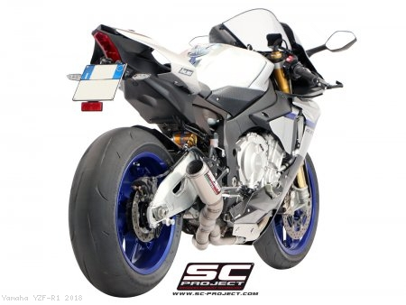 CR-T Exhaust by SC-Project Yamaha / YZF-R1 / 2018