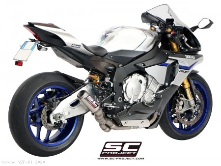 CR-T Exhaust by SC-Project Yamaha / YZF-R1 / 2020