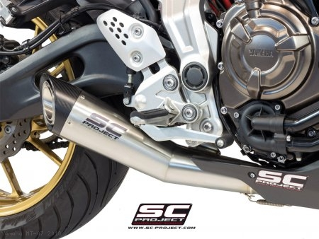 S1 Exhaust by SC-Project Yamaha / MT-07 / 2018