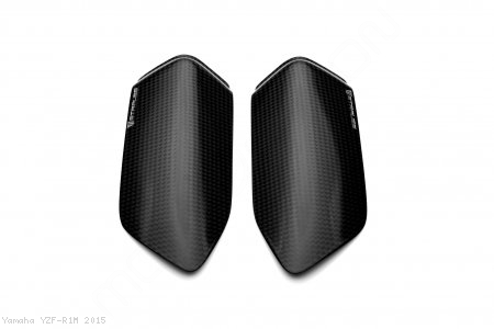 Carbon Fiber Street Version Tank Slider Kit by Strauss Carbon Yamaha / YZF-R1M / 2015
