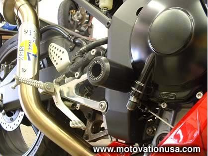 Yamaha Clutch Sliders Guard by Motovation Accessories