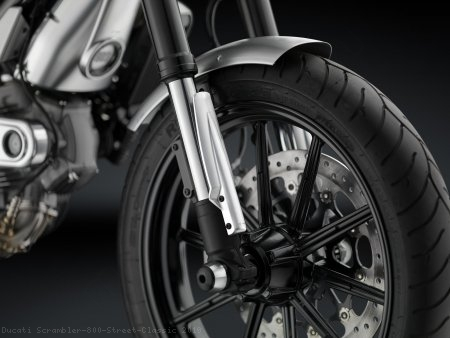 Fork Tube Guards by Rizoma Ducati / Scrambler 800 Street Classic / 2019