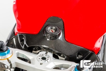Carbon Fiber Ignition Cover by Ilmberger Carbon Ducati / 1299 Panigale / 2017
