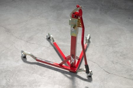 BURSIG Racing Stand with Wheels and Bike Adapter Ducati / Hyperstrada 939 / 2016