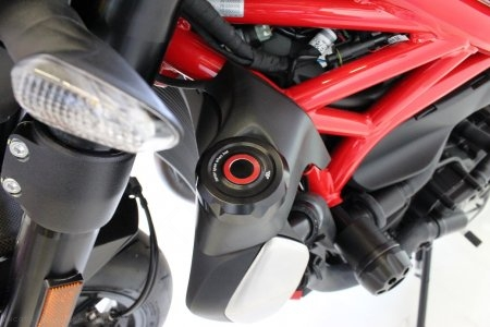 Radiator Cap Cover by Gilles Tooling Ducati / Monster 1200 / 2014