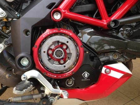 Ducati Wet Clutch Clear Cover Oil Bath with Support Bracket by Ducabike Ducati / Multistrada 1200 S / 2016