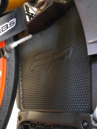 Radiator Guard by Evotech Performance Aprilia / Tuono V4 R APRC / 2015