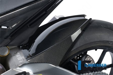 Carbon Fiber Rear Hugger by Ilmberger Carbon Aprilia / RSV4 R / 2014