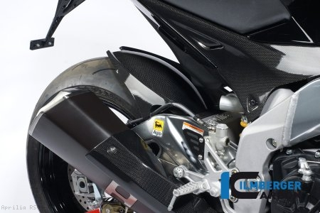 Carbon Fiber Rear Hugger by Ilmberger Carbon Aprilia / RSV4 RF / 2015