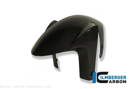 Carbon Fiber Front Fender by Ilmberger Carbon Aprilia / Tuono V4 1100 Factory / 2018