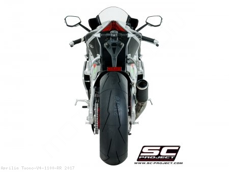 CR-T Exhaust by SC-Project Aprilia / Tuono V4 1100 RR / 2017